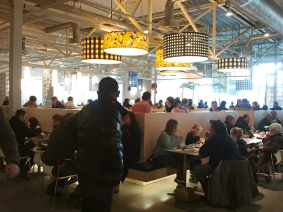 Everyone and their mom feasting on 'Swedish' goodies at Ikea