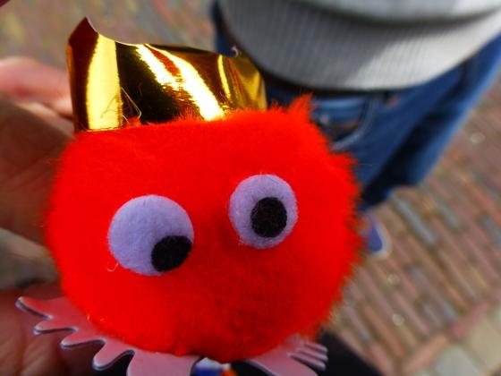 My little orange pal, Wupje!